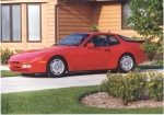 87 red 944 turbo