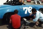 working on 356 at watkins glen