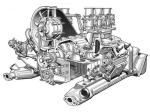 911 cutaway motor