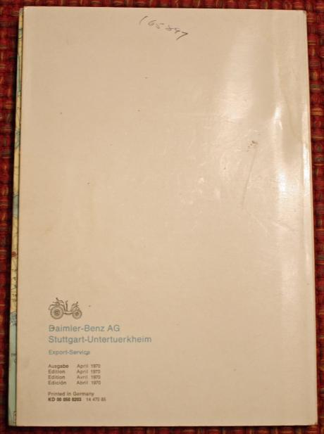 1-22-17 1973 MB 280SEL manuals 21