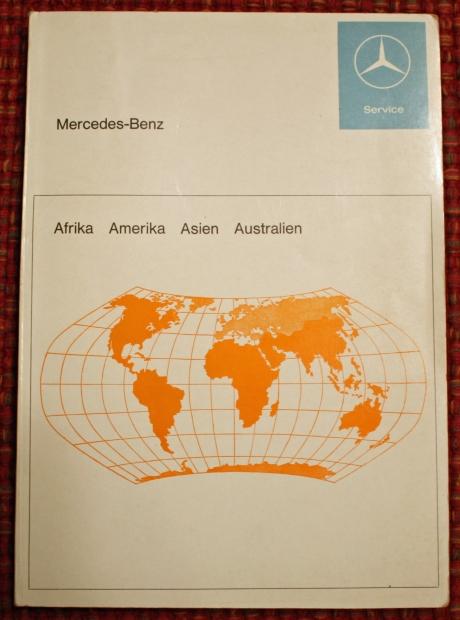 1-22-17 1973 MB 280SEL manuals 22